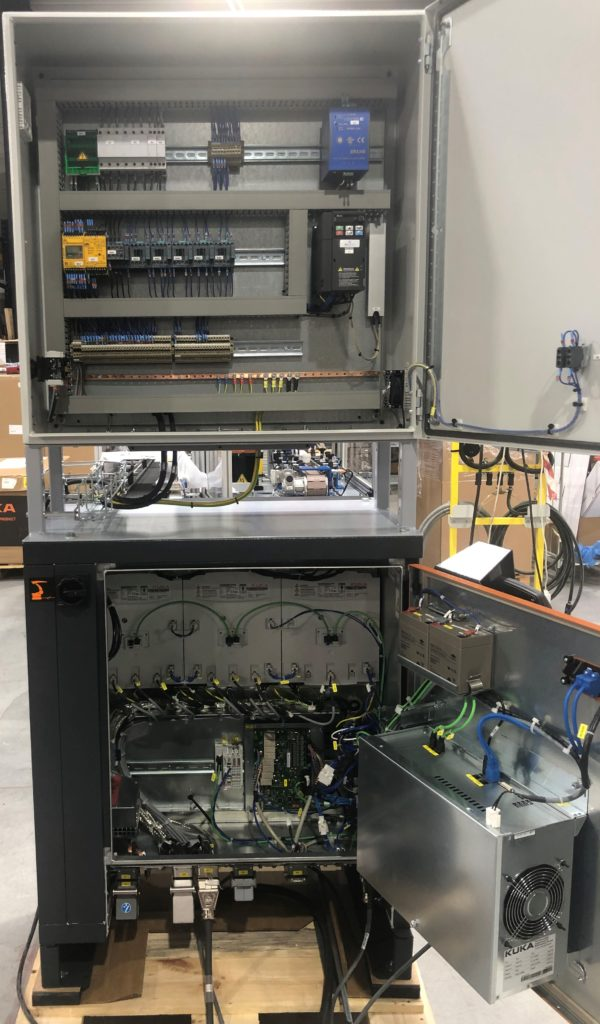a electric power and content unit to have a secure control